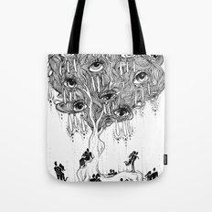 EscapeEyes Tote Bag