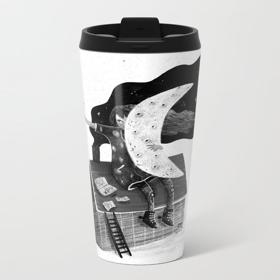 Poet Metal Travel Mug