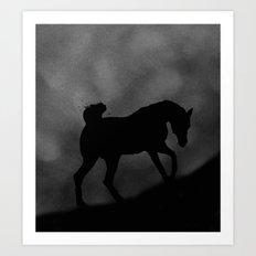 Desert Evening Art Print