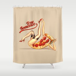 Hot Pizza! Shower Curtain