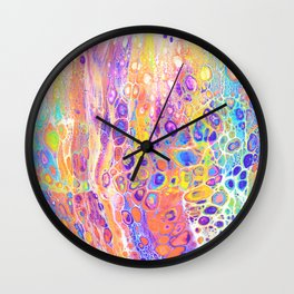 Artwork_078 - jessie.does.art Wall Clock