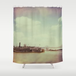 Mississippi River Shower Curtain