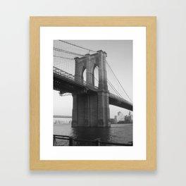 BK Framed Art Print