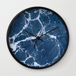 Ocean Lace Wall Clock