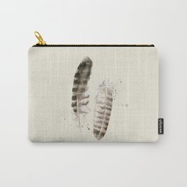 Pheasant Feather 2 Carry-All Pouch