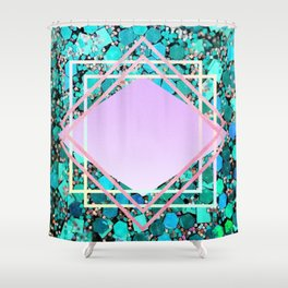 Glam and glitter Shower Curtain