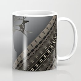 Elk Spirit (Gray) Coffee Mug