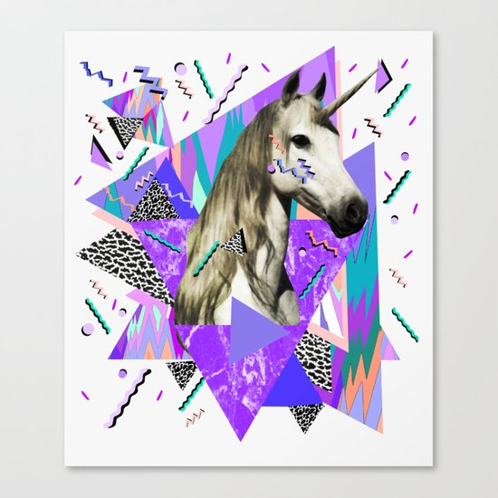 ACID WAVVES Canvas Print