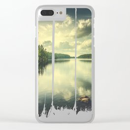 When in doubt Clear iPhone Case