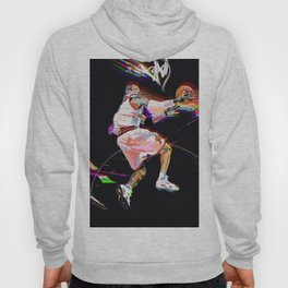 Philadelphia Sports Icon #3 Basketball Player Poster Hoody