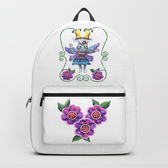 Angel Kitty Backpack