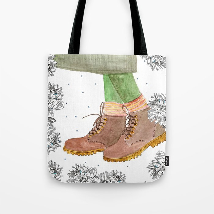 e11496d6c8b64 Boots Tote Bag by olgad_rozdova
