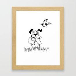DuckHunt Framed Art Print