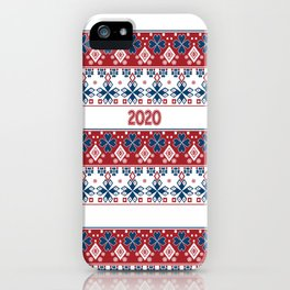 New year , 2020 , Christmas iPhone Case