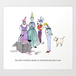 The King's Birthday Art Print