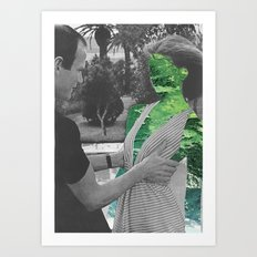 Holy Mother of Nature Art Print