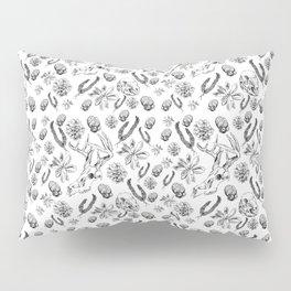 Skulls and Succulents Pillow Sham