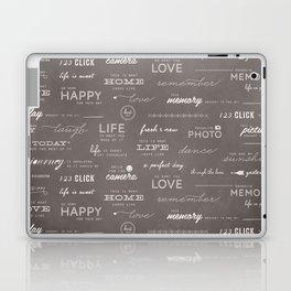 Life on a Chalkboard Laptop & iPad Skin