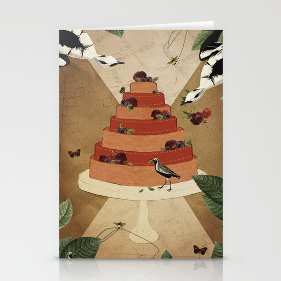 Let Them Eat Cake :: II Stationery Cards