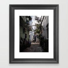 38 Framed Art Print