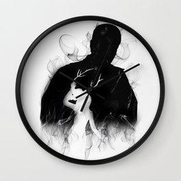 Detective's Shadow (Dark) Wall Clock