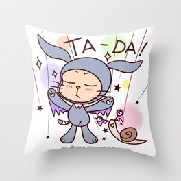 Ppyorotong & Tong Throw Pillow