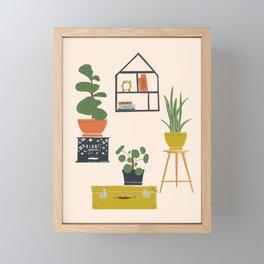Plant Mom Apartment Framed Mini Art Print