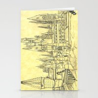 hogwarts Stationery Cards featuring Hogwarts by Christina Brunnock