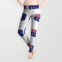 908c5e6379 Australia Flag Leggings | Society6