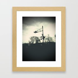 railroad Framed Art Print