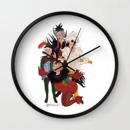 Henny Penny – Straight, No Chaser Wall Clock