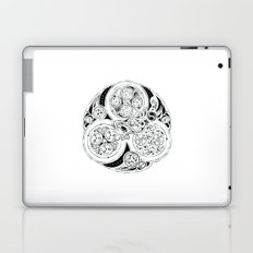 BBC Merlin: In Spite of Everything, the Stars (Dragon Triskelion tattoo) Laptop & iPad Skin