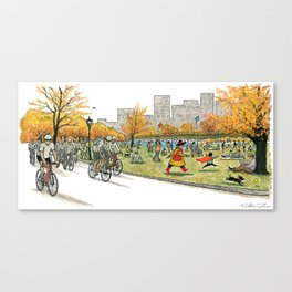 NANA in Central Park Canvas Print