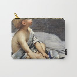12,000px,500dpi-Fernand Pelez - A child in the attic - Digital Remastered Edition Carry-All Pouch