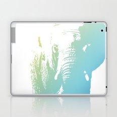 Elephant in Blue Laptop & iPad Skin