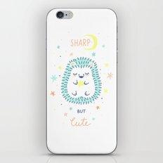 Cute Hedgehog iPhone & iPod Skin