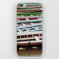 boats iPhone & iPod Skins featuring Boats by BTP Designs