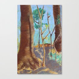 Trees Aren't Brown Canvas Print