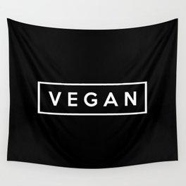vegan.  Wall Tapestry