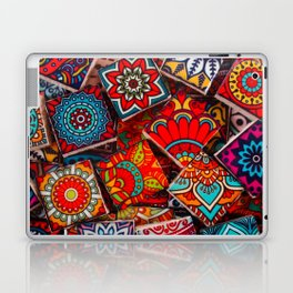 V1 Traditional Moroccan Colored Stones. Laptop & iPad Skin