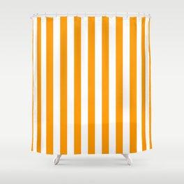 Mango Mojito Beach Hut Horizontal Stripe Fall Fashion Shower Curtain