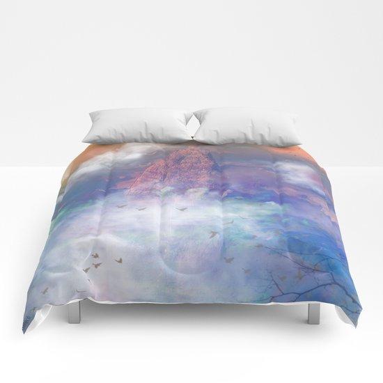Towards the mount Olympus Comforters