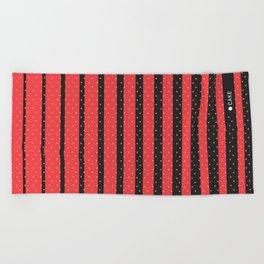 Lines & patterns Beach Towel
