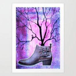 The Magic Boot Art Print