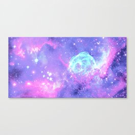 Pastel Galaxy Canvas Print
