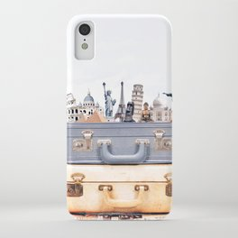 Travel Luggage iPhone Case