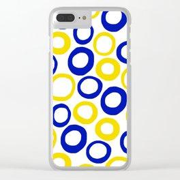 Calamari Hoops 01 Clear iPhone Case