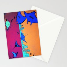Manta Madness Stationery Cards