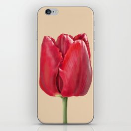 Woodburn tulip iPhone Skin