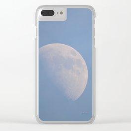 January Half Moon Clear iPhone Case